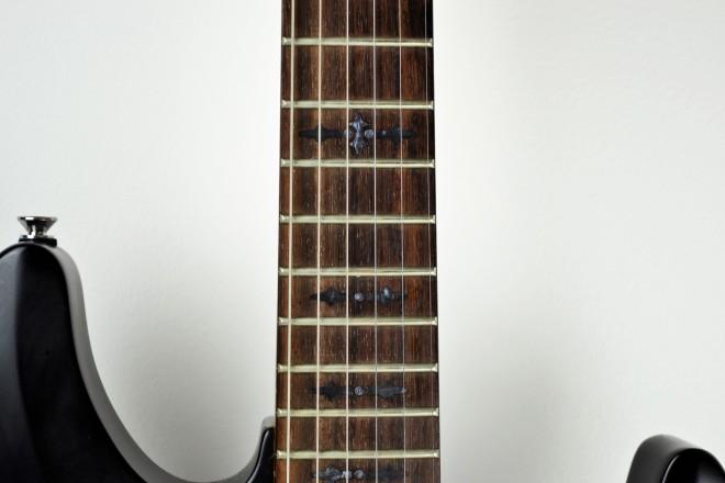schecter guitar inlay